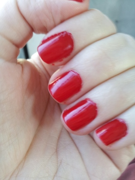 OPI Big Apple Red Swatch
